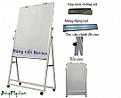 Office board - Flipchart with casters 80x120cm