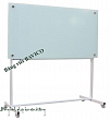Whiteboard with glass surface 100x160cm