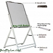 Paper Clipboard - Cheap Fixed Flipchart Board  (large sizes)
