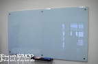 Whiteboard with glass surface 80x120cm