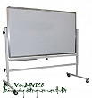 Rolling portable single side marker board 80x120cm.