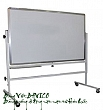 White board - Rolling portable single side marker board_80x120cm