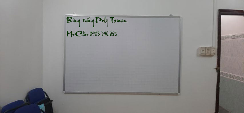 Bảng trắng viết bút lông Poly Taiwan 80x120cm BTP-01 (Ảnh 2)