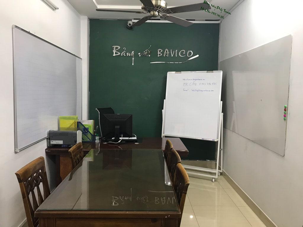 Bảng trắng viết bút lông Poly Taiwan 80x120cm BTP-01 (Ảnh 1)