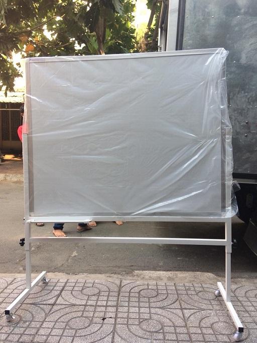 Bảng trắng viết bút lông Poly Taiwan 80x120cm BTP-01 (Ảnh 9)